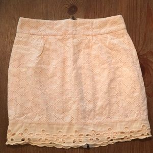 Women's ByCorpus Light Pink Mini Skirt - Size 2